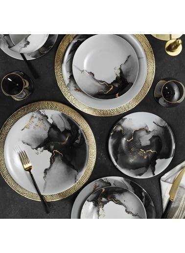 Kütahya Porselen Kütahya Porselen 24 Parça Yemek Takımı 1071412 Renkli